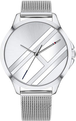 Tommy Hilfiger Women Stainless Steel Mesh Bracelet Watch 38mm