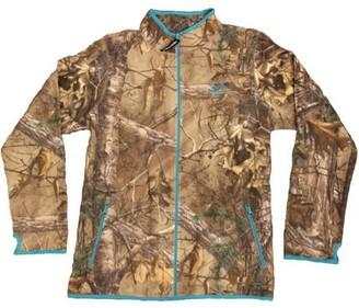 113b758679b Mossy Oak Women s Camo Fleece Full Zip Jacket