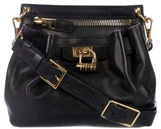 Tom Ford Lock-Front Crossbody Bag