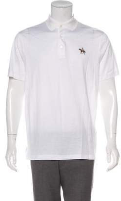 Ralph Lauren Purple Label Embroidered Polo Shirt w/ Tags