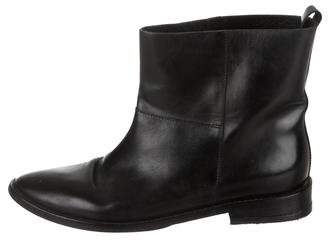 Theyskens' Theory Leather Ankle Boots