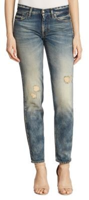 Ralph Lauren Collection Iconic 320 Distressed Boyfriend Jeans $750 thestylecure.com