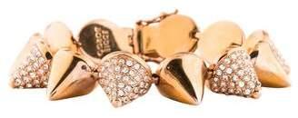 Eddie Borgo Crystal Cone Bracelet