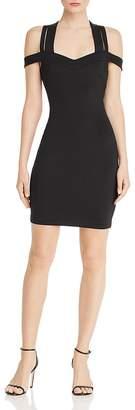 GUESS Valorie Cold-Shoulder Dress
