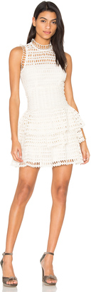 Free People Meet Me at Midnight Mini Dress $198 thestylecure.com