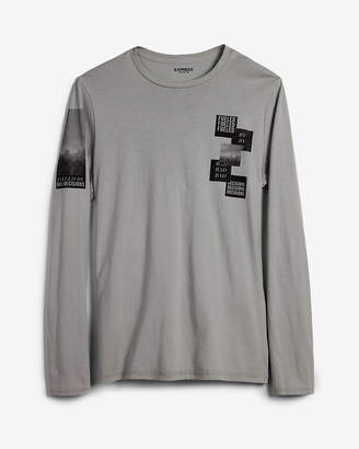 Express Bad Decisions Long Sleeve Graphic Tee