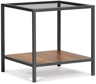 Distinctly Home Yuppie Glass End Table