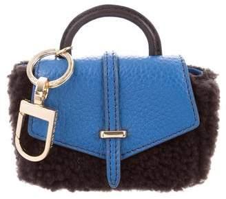 Tory Burch Shearling Bag Charm