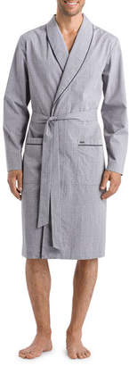 Hanro Men's Theo Woven Robe