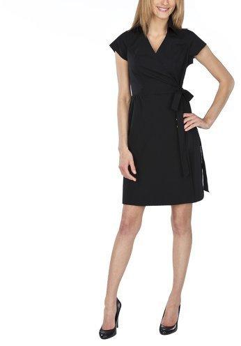 Merona® Women's Wrap Dress - Ebony