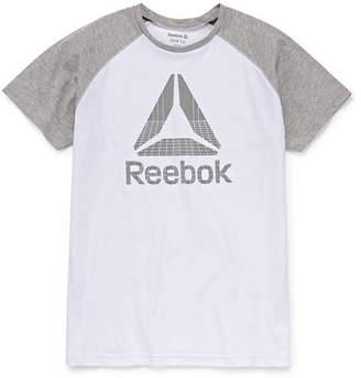 Reebok Short Sleeve Crew Neck T-Shirt Boys