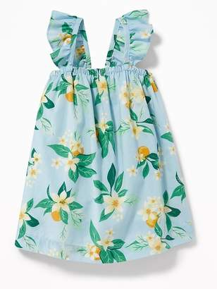 Old Navy Ruffle-Strap Floral-Print Dress for Baby