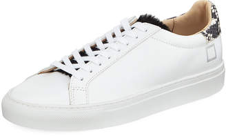 D.A.T.E Newman Leather Platform Sneakers