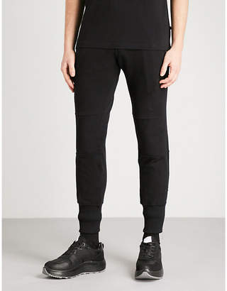 Blood Brother Shock zipped cotton-jersey jogging bottoms