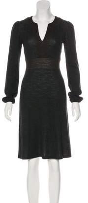 L'Agence Wool Knee-Length Dress