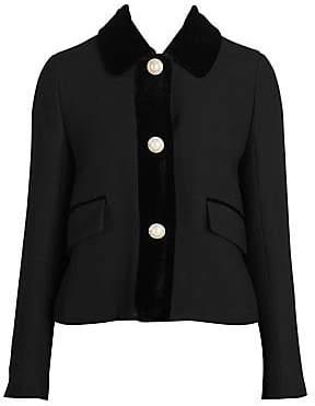 837fe748dd6 Miu Miu Black Women s Jackets - ShopStyle