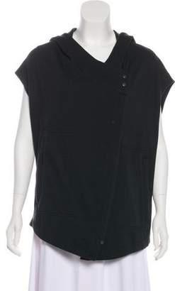 Helmut Lang HELMUT Hooded Fleece Vest