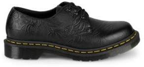 Dr. Martens 1461 Floral Embossed Leather Derby Shoes