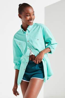 Urban Renewal Vintage Remade Color Pop Corduroy Button-Down Shirt
