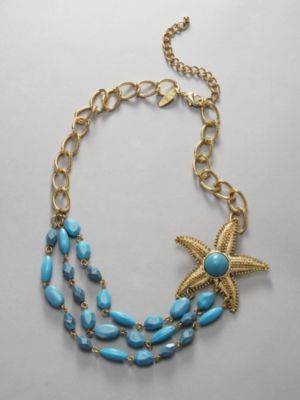 City Style Starfish Necklace