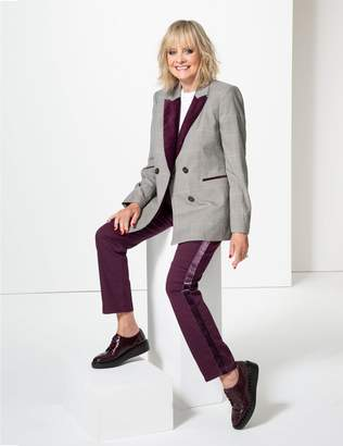 Marks and Spencer Velvet Mid Rise Skinny Leg Jeans