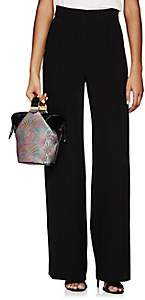 Lisa Perry Women's Ponte Wide-Leg Trousers - Black