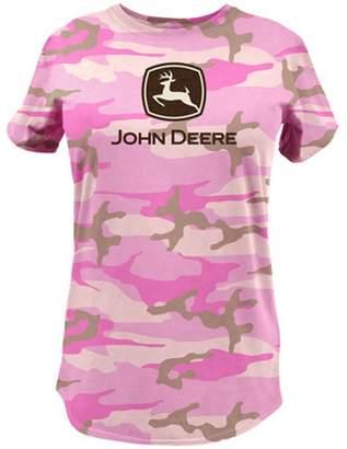 John Deere Glitter Logo T-shirt-xl