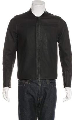 Michael Kors Sheepskin Zip Jacket