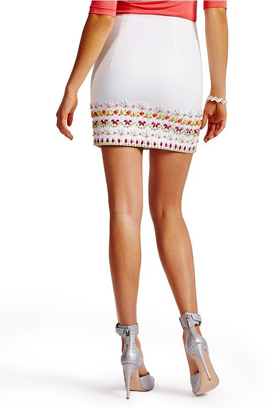 GUESS by Marciano Bahama Beaded Skirt