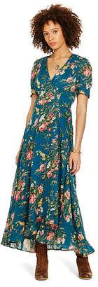 Ralph Lauren Denim & Supply Floral-Print Gauze Wrap Dress $145 thestylecure.com