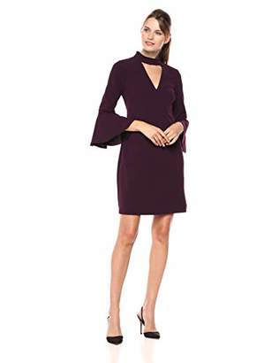 Eliza J Women's Shift Dress with Bell Sleeves