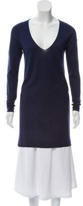Zadig & Voltaire Long Sleeve Scoop Neck Sweater