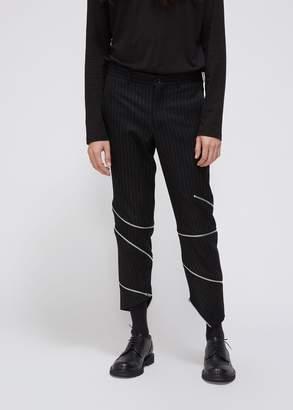 Comme des Garcons Striped Zipper Pant