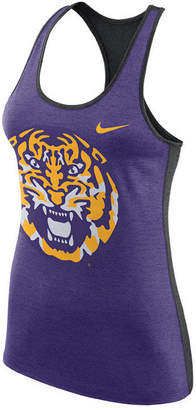 Nike Women's Lsu Tigers Dri-Fit Touch Tank