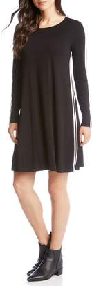 Karen Kane Varsity Stripe Shift Dress
