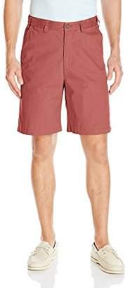 Geoffrey Beene Men's Flat Front Shorts