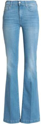 7 For All Mankind Charlize Mid-Rise Flared Jeans