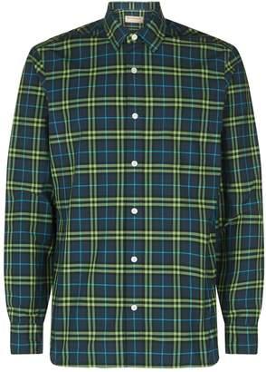 Burberry Check Long Sleeve Shirt