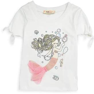 Baby Sara by Sara Sara Little Girl's Mermaid Print Tee