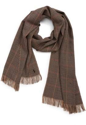Polo Ralph Lauren Patterned Merino Wool Scarf