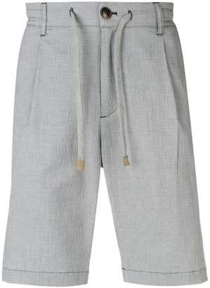 Eleventy drawstring tailored shorts