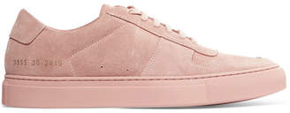 Common Projects Bball Suede Sneakers - Blush