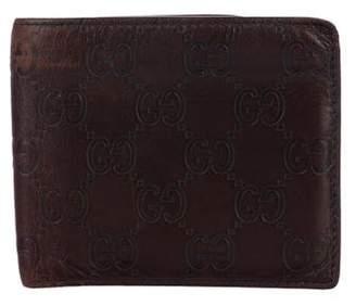 Gucci Guccissima Bi-Fold Wallet