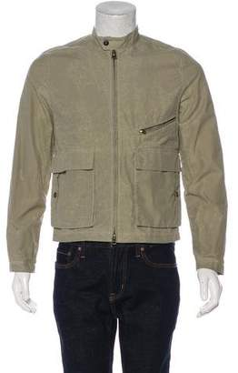 Billy Reid Distressed Light Jacket
