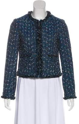 Tory Burch Cropped Tweed Blazer