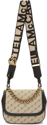 Stella McCartney Beige Eco Monogram Shoulder Bag