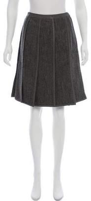 Etro Wool Knee-Length Skirt