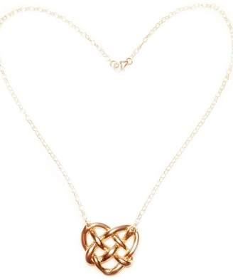 The Heart Knot Princess 18k Gold