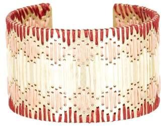 Lucky Brand Threaded Statement Cuff Bracelet