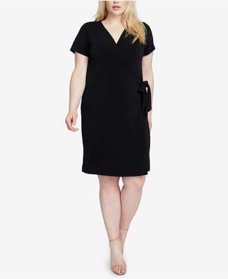 Rachel Roy Trendy Plus Size Wrap Dress
